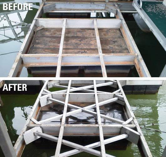 Custom Dock Systems provides quality Dock Repairs, Restoration, and