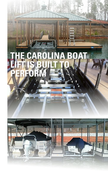 Carolina Boat Lift by Custom Dock Systems