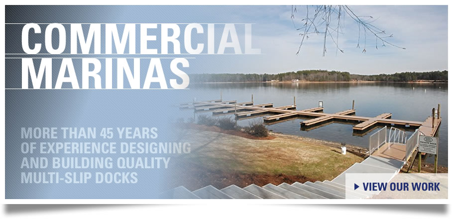 Commercial Marinas and Boat Docks