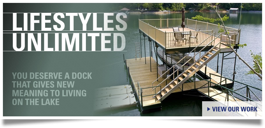 Custom Boat Docks for Sale